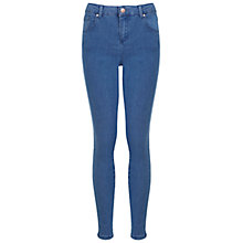 Buy Miss Selfridge Steffi Pretty Jeans, Mid Wash Online at johnlewis.com