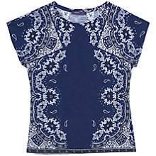 Buy Violeta by Mango Printed Cotton T-Shirt Online at johnlewis.com