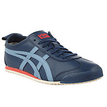 Buy Onitsuka Tiger Mexico 66 Men's Trainers, Blue Online at johnlewis.com