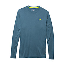 Buy Under Armour ColdGear Infrared Lightweight Crew Base Layer, Blue Online at johnlewis.com