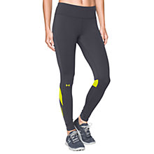 Buy Under Armour Fly-By Running Tights, Grey Online at johnlewis.com