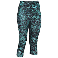 Buy Under Armour HeatGear® Armour Printed Capri Tights, Mint Online at johnlewis.com