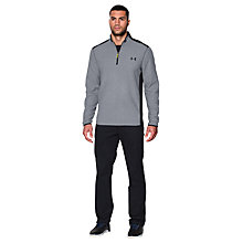 Buy Under Armour ColdGear Infrared Performance 1/4 Zip Fleece, Grey Online at johnlewis.com