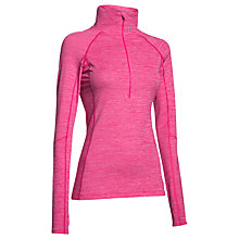 Buy Under Armour ColdGear Cosy 1/2 Zip Long Sleeve Top Online at johnlewis.com
