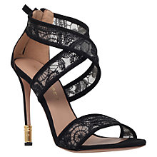 Buy Kurt Geiger Covent High-Heel Sandals, Black Online at johnlewis.com
