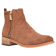 Buy Kurt Geiger Dansey Block Heeled Ankle Boots Online at johnlewis.com