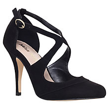 Buy Miss KG Nicola Cut Out Court Shoes, Black Online at johnlewis.com
