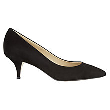 Buy Hobbs Arianne Kitten Heel Court Shoes Online at johnlewis.com