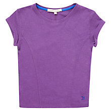 Buy Jigsaw Junior Girls' Slouchy T-Shirt Online at johnlewis.com