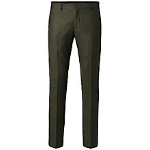 Buy Selected Homme + Kobenhavn Militaire Trousers, Dark Green Online at johnlewis.com