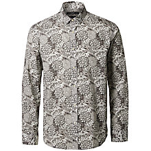 Buy Selected Homme + Kobenhavn Army Bloom Shirt, Multi Online at johnlewis.com