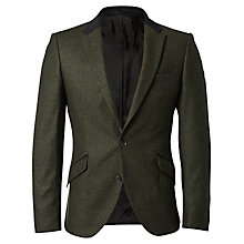 Buy Selected Homme + Kobenhavn Militaire Blazer, Dark Green Online at johnlewis.com
