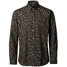 Buy Selected Homme + Kobenhavn Army Polka Shirt, Green Online at johnlewis.com