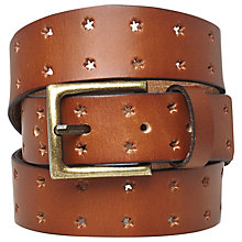 Buy White Stuff Star Belt, Tan Online at johnlewis.com