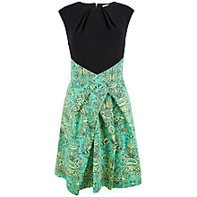 Buy Closet Jungle Print Skirt Dress, Green Online at johnlewis.com