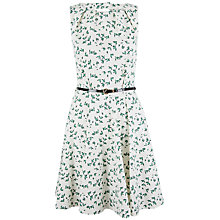 Buy Closet Bird Cut Out Back Dress, White Online at johnlewis.com