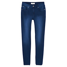 Buy Mango Skinny Elektra Jeans, Medium Blue Online at johnlewis.com