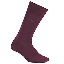 Buy BOSS Marc Plain Cotton Socks, Purple Online at johnlewis.com