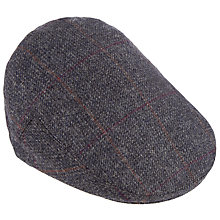 Buy Olney Check British Wool Hereford Flat Cap Online at johnlewis.com