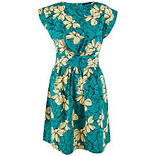 Buy Closet Floral Tie Back Dress, Multi Online at johnlewis.com