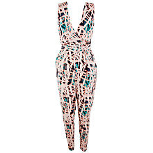 Buy Closet Tribal Cross Over Jumpsuit, Multi Online at johnlewis.com