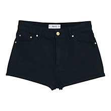 Buy Mango High Waist Denim Shorts Online at johnlewis.com