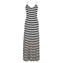 Buy Oasis Side Stripe Dress, Multi Blue Online at johnlewis.com