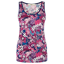 Buy Oasis Suzi Ditsy Print Vest, Multi Online at johnlewis.com