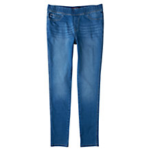 Buy Violeta by Mango Massha Jeggings, Blue Online at johnlewis.com