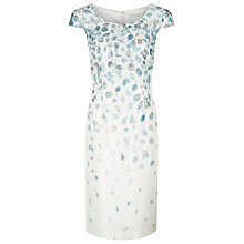 Buy Jacques Vert Trailing Petal Dress, Multi Cream Online at johnlewis.com