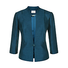 Buy Jacques Vert One Button Jacket, Mid Blue Online at johnlewis.com