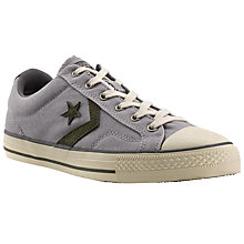 Buy Converse Star Player Canvas Trainers, Dolphin/Natural Online at johnlewis.com