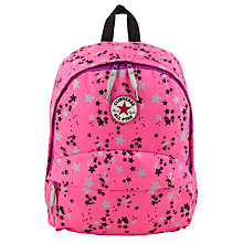 Buy Converse Children's Star Backpack, Pink Online at johnlewis.com