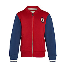 Buy Converse Boys' Varsity Baseball Jacket Online at johnlewis.com