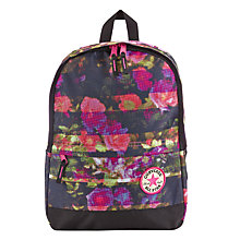Buy Converse Children's Floral All Star Backpack, Pink Online at johnlewis.com