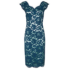 Buy Jacques Vert Opulent Lace Dress, Blue Online at johnlewis.com