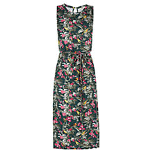 Buy Oasis The Marianne Dress, Multi Green Online at johnlewis.com