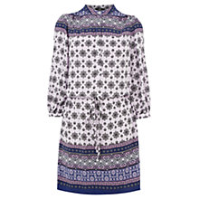 Buy Oasis Paisley Border Dress, Off White Online at johnlewis.com