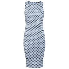 Buy Miss Selfridge Jacquard Bodycon Dress, Blue Online at johnlewis.com