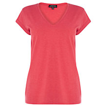Buy Warehouse V-Neck Boyfriend Tee Online at johnlewis.com