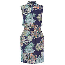 Buy Warehouse Paisley Shirt Dress, Multi Online at johnlewis.com