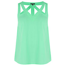Buy Warehouse Cut Out Detail Vest Top Online at johnlewis.com