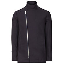 Buy Reiss Odin Funnel Collar Jacket, Navy Online at johnlewis.com