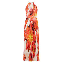Buy Karen Millen Giant Floral Maxi Dress, Multi Online at johnlewis.com