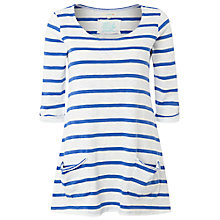 Buy White Stuff Chesil Striped T-Shirt, Blue Online at johnlewis.com