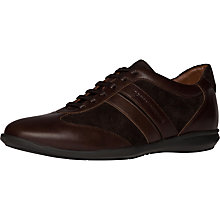 Buy Tommy Hilfiger Oliver Leather Trainers Online at johnlewis.com