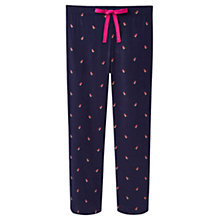 Buy Joules Fleur Robin Pyjama Pants, Navy Online at johnlewis.com