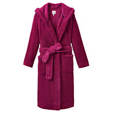 Buy Joules Rita Waffle Robe, Ruby Online at johnlewis.com