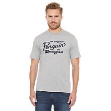 Buy Original Penguin Script LG Tee Online at johnlewis.com
