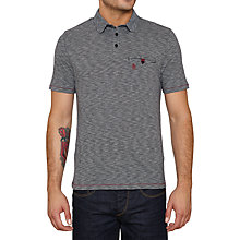 Buy Original Penguin Landy Polo Top, Dark Sapphire Online at johnlewis.com